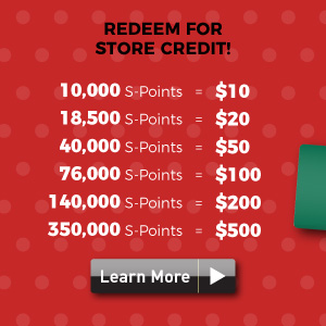 s-points redeem for store credit
