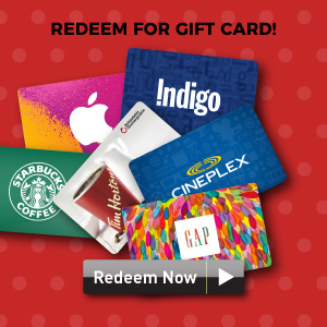s-points redeem for gift card