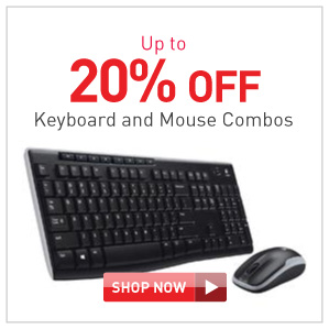 up to 20% off keyboard and mouse combos
