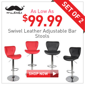 Leather bar stools $99.99 set of 2