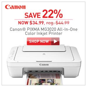 Canon pixma MG3020 Inkjet printer