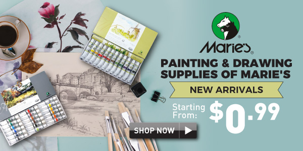 Paiting & Drawing supplies of Marie's