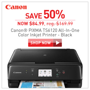 save 50% Canon Pixma TS6120 all in one Inkjet Printer