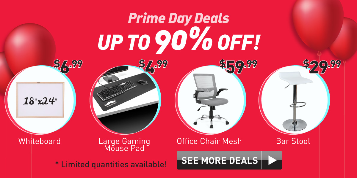 Prime Day Deals up to 90% Off