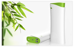 Premium Bamboo Collection Portable Power Bank