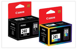 Canon PG-240 & CL-241 OEM Ink Cartridge Combo Set