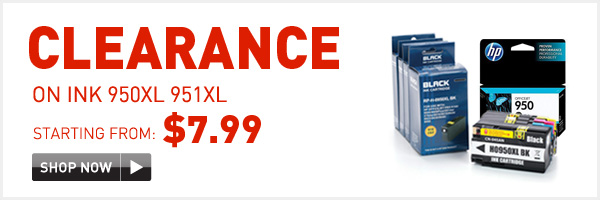 Clearance on ink 950xl 951xl