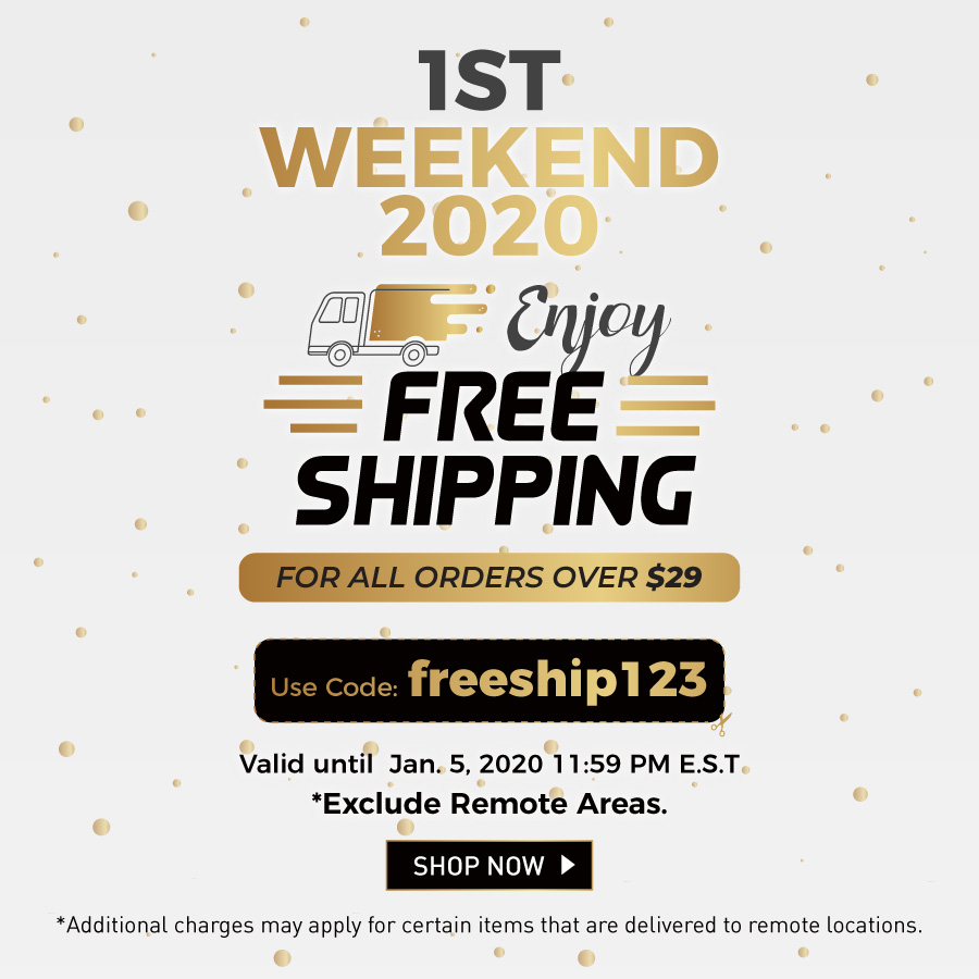 Free Shipping over $29