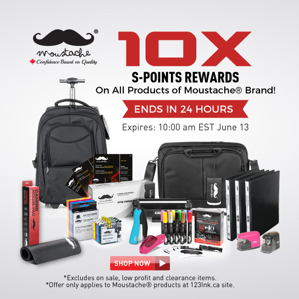 10x S-Points on Moustache Products