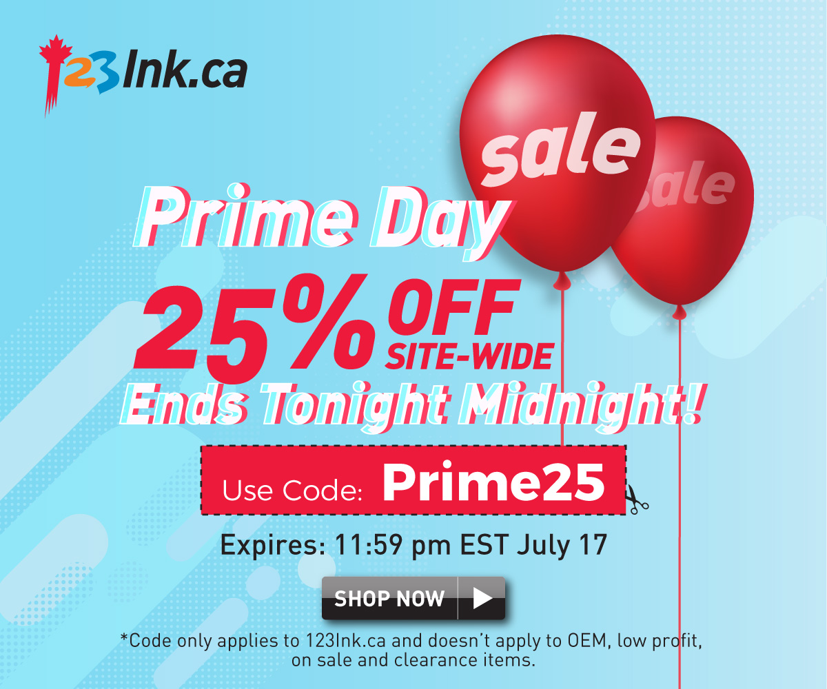 Prime Day Sale 25% Off and Deals up to 90% off