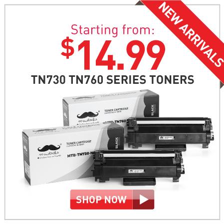 TN730 TN760 toners starting $14.99