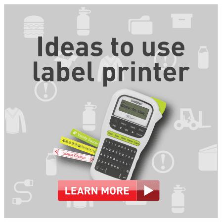 Ideas to use label printer