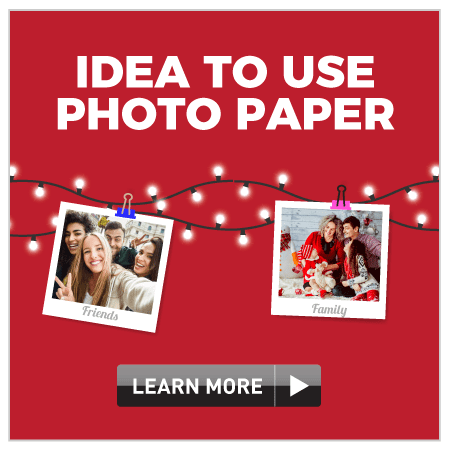 Ideas to use photo paper