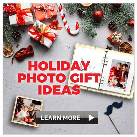Holiday photo gift ideas