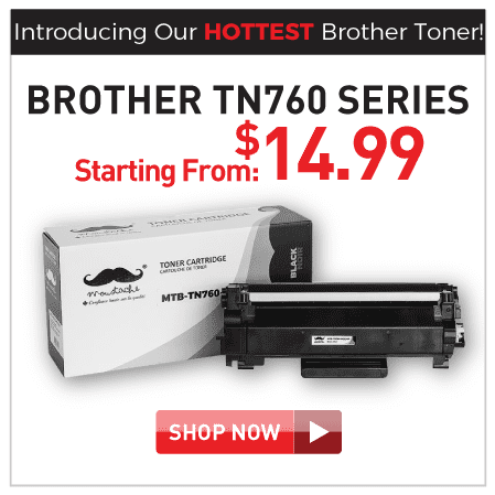 Brother TN760 series toners