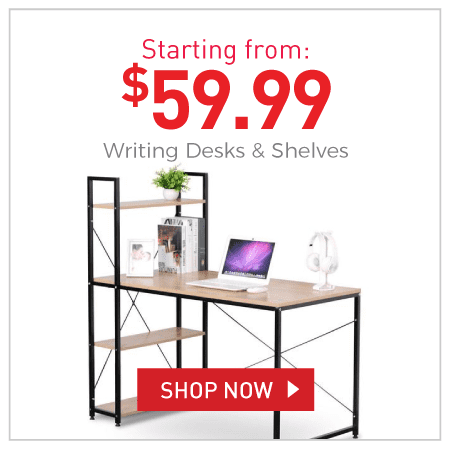 Writing Desks & Shelves